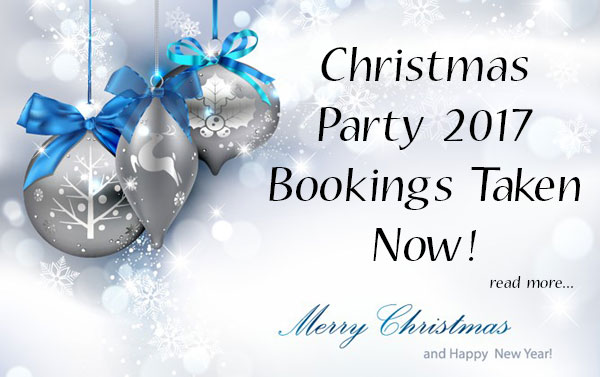 Christmas Party Booking 2017